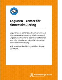Lagunen - center för sinnesstimulerings folder